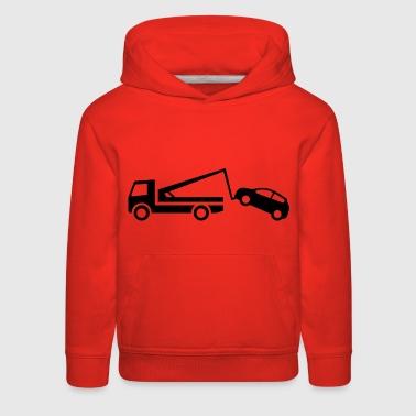 Tow Truck Flirting Car Pick Score Party Wreckers - Kids' Premium Hoodie