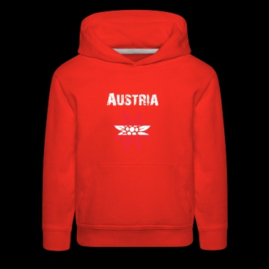 Nation-Design Austria Edelsweiss rtxxkF - Kids' Premium Hoodie
