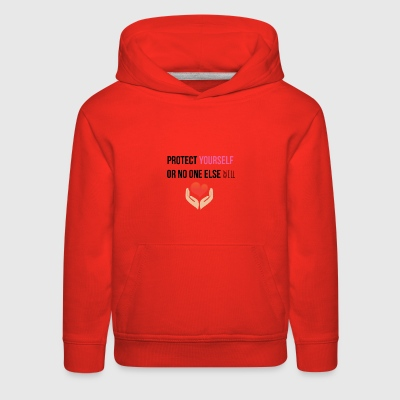 Protect yourself - Kids' Premium Hoodie