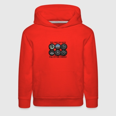 The Only Six Pack I'll Ever Need - Kids' Premium Hoodie
