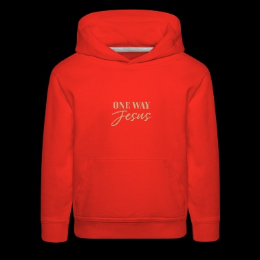 Christian, There is none other name - Kids' Premium Hoodie