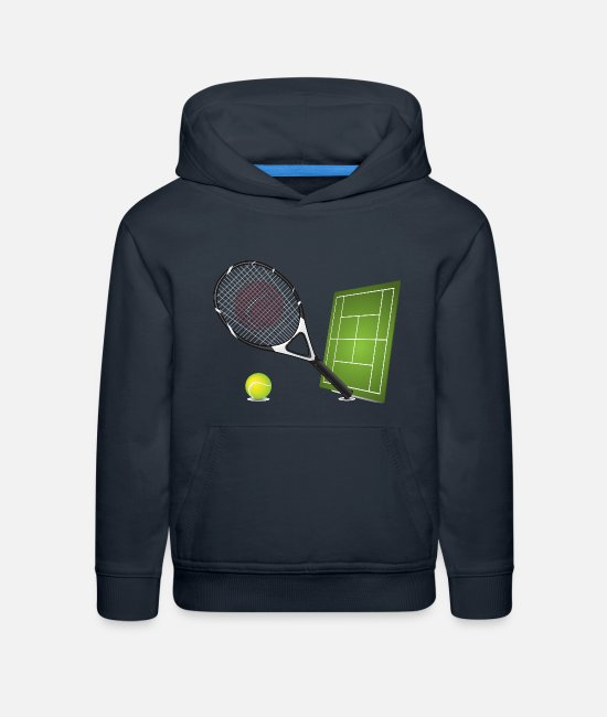 Tennis Hoodies & Sweatshirts - Tennis - Sports - Kids' Premium Hoodie navy