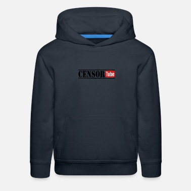 Censorship Censor-Tube anti-censorship - Kids' Premium Hoodie