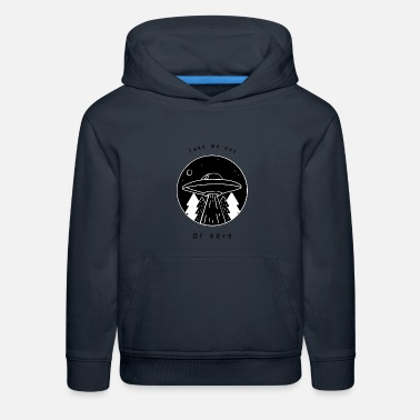 Take Me Out Of Here - black - Kids' Premium Hoodie