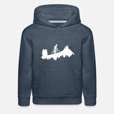 Mountain Bike Mountain biking - Kids' Premium Hoodie