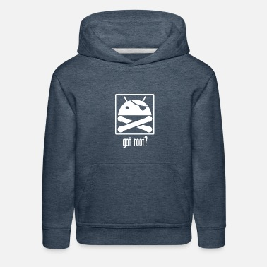Android Got Root Android Root - Kids' Premium Hoodie