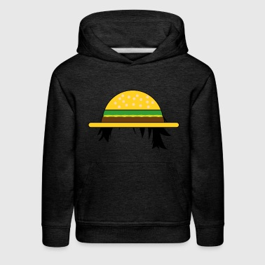 Piece Straw Hat Burger One Piece - Kids' Premium Hoodie
