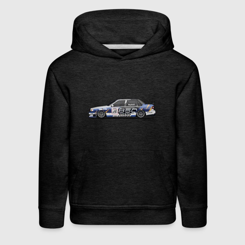 Volvo 850 Saloon TWR BTCC Super Touring Car - Kids' Premium Hoodie