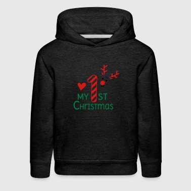 First My first Christmas - Kids' Premium Hoodie