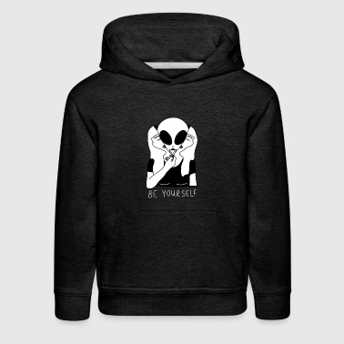 Be Your Self - Kids' Premium Hoodie