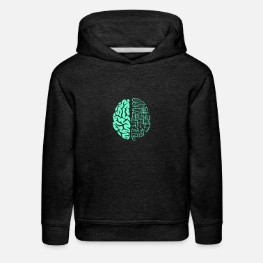 Back To School Brain Power - Kids' Premium Hoodie