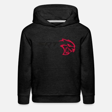 Supercharger SRT HELLCAT SUPERCHARGED - Kids' Premium Hoodie
