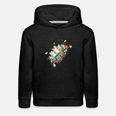 A series of works everywhere I will - Kids' Premium Hoodie