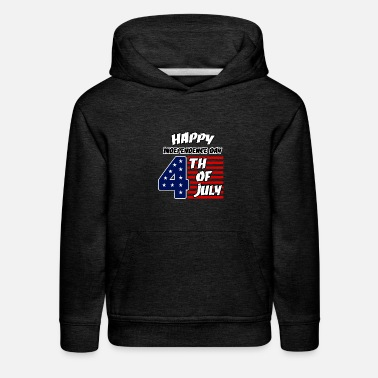 Th Of July Independence Day 4 th of july - Kids' Premium Hoodie