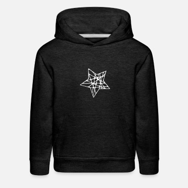 Rubber Rope A Star Made of Ropes - Kids' Premium Hoodie