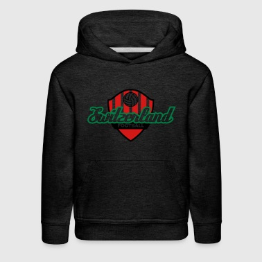 Football Crest Of Switzerland - Kids' Premium Hoodie