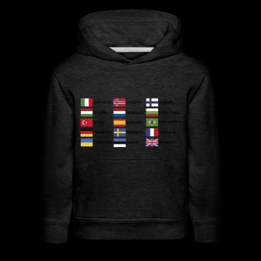 2541614 15571293 waterpolo international - Kids' Premium Hoodie