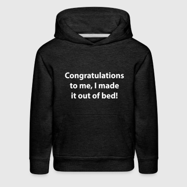 congratulations to me - Kids' Premium Hoodie