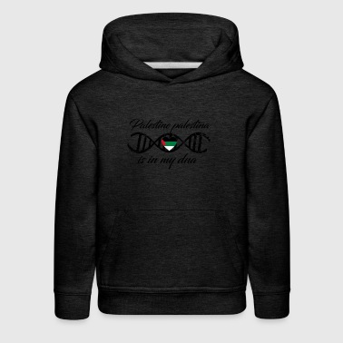 love my dns dna land country Palestine palestina - Kids' Premium Hoodie