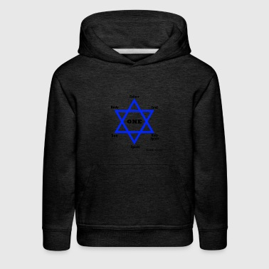 One Star of God - Kids' Premium Hoodie