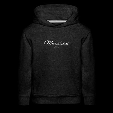 Idaho Meridian US DESIGN EDITION - Kids' Premium Hoodie