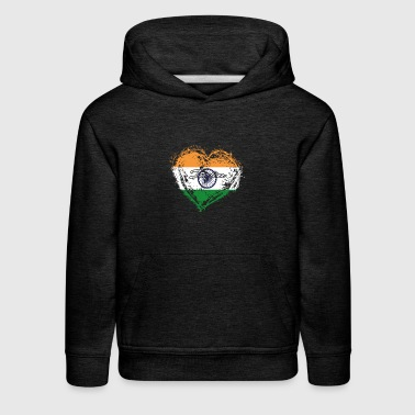 HOME ROOTS COUNTRY GIFT LOVE India - Kids' Premium Hoodie