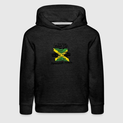 URLAUB jamaika ROOTS TRAVEL I M IN Jamaica Spanish - Kids' Premium Hoodie
