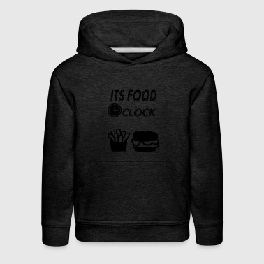its food oclock - Kids' Premium Hoodie