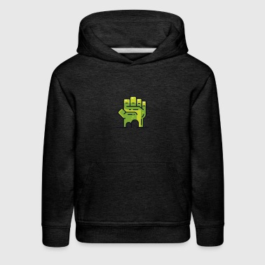 Hulk Fist Novelty Graphic T Shirt - Kids' Premium Hoodie