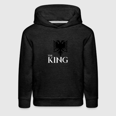 the king of albania kosovo albanian eagle T-shirt - Kids' Premium Hoodie