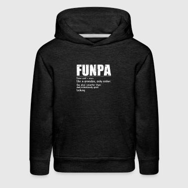 Funny FUNPA Fun Grandpa Novelty T Shirt - Kids' Premium Hoodie