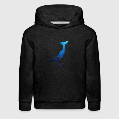 Heart Your Humpback Whale - Kids' Premium Hoodie
