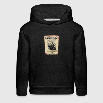 Disney Pirates Of The Caribbean Poster Wanted Jack - Kids' Premium Hoodie