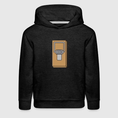 mouse trap - Kids' Premium Hoodie
