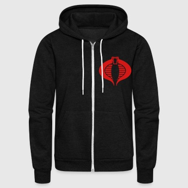 BLACK COBRA - Unisex Fleece Zip Hoodie