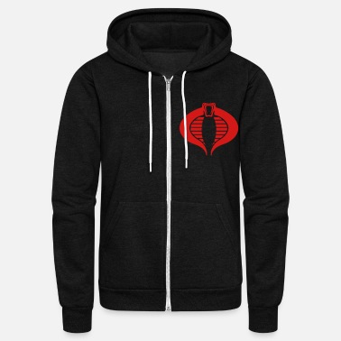 Cobra BLACK COBRA - Unisex Fleece Zip Hoodie