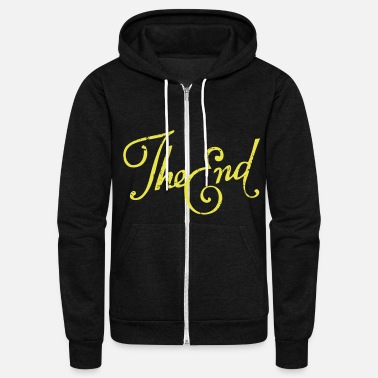 End The End - Unisex Fleece Zip Hoodie