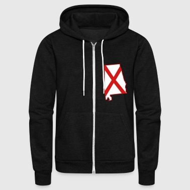 Alabama Alabama - Unisex Fleece Zip Hoodie