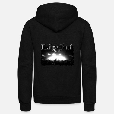 Concert Concert Light - Unisex Fleece Zip Hoodie