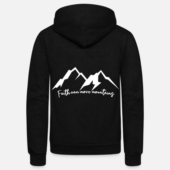 Nature Hoodies & Sweatshirts - Nature - Unisex Fleece Zip Hoodie black