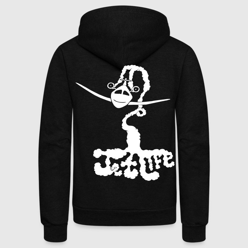 Jet Life - stayflyclothing.com - Unisex Fleece Zip Hoodie
