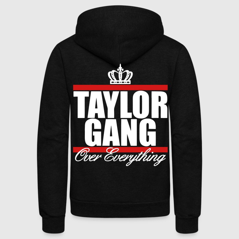 Taylor Gang Over Everything - stayflyclothing.com - Unisex Fleece Zip Hoodie
