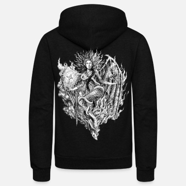Split SPLIT PERSONALITIES - Unisex Fleece Zip Hoodie