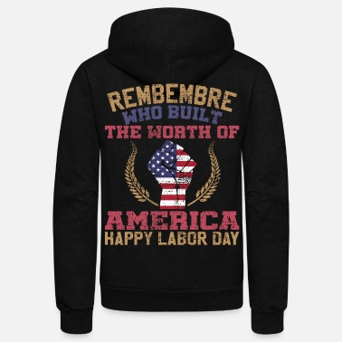Labor LABOR DAY - Unisex Fleece Zip Hoodie