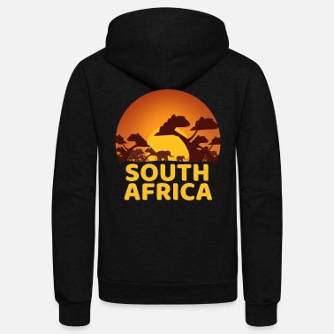 Obscene South Africa - Unisex Fleece Zip Hoodie