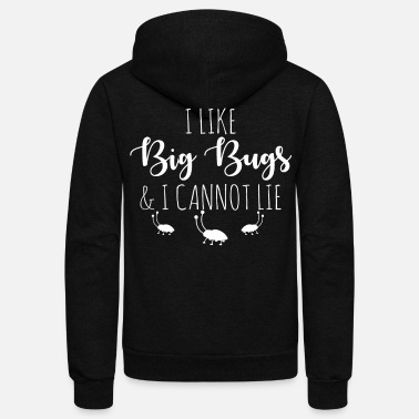 Collections Collect insects - Unisex Fleece Zip Hoodie