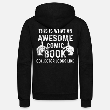 Comic Comic Book Collector - Unisex Fleece Zip Hoodie