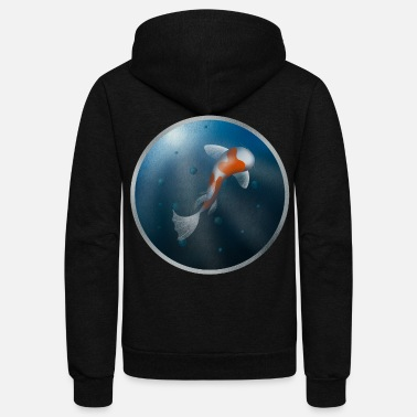 Under Water Fish Under Water - Unisex Fleece Zip Hoodie