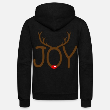 Joy JOY - Unisex Fleece Zip Hoodie