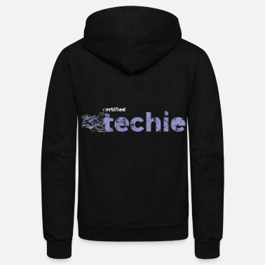 Technology Technology - Unisex Fleece Zip Hoodie